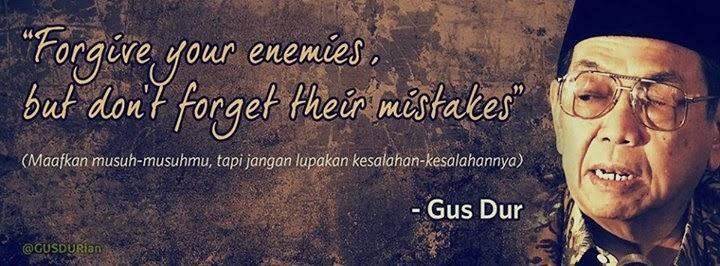 Kata Kata Gus Dur Motivasi