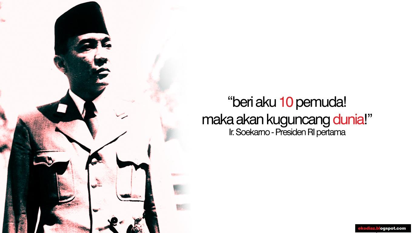 Kata Kata Motivasi Soekarno