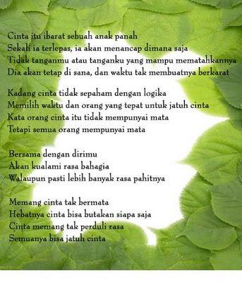 Puisi Cinta Galau