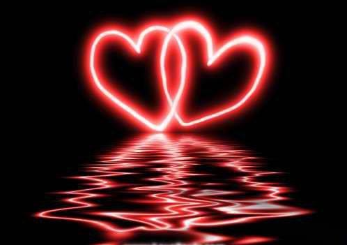 Gambar Love Cinta Red