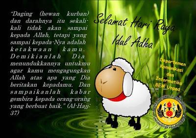 Kata Kata untuk Idul Adha