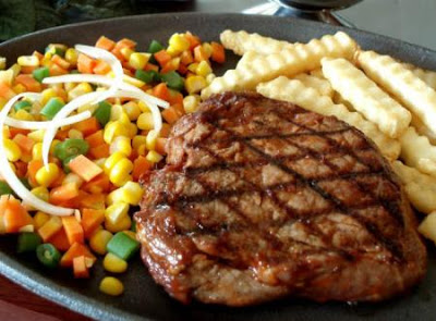 Cara Membuat Steak Sirloin Barberque