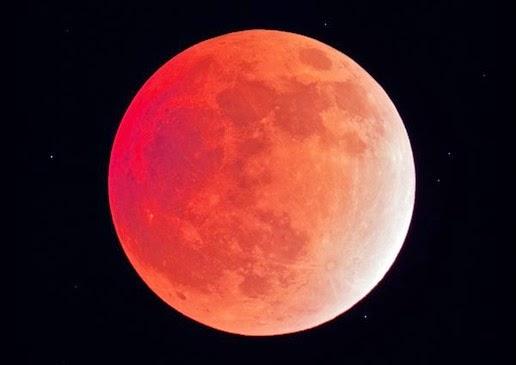 Gerhana Bulan Total+Merah