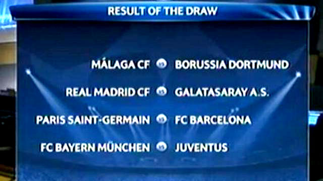 Hasil Liga Champions 2014